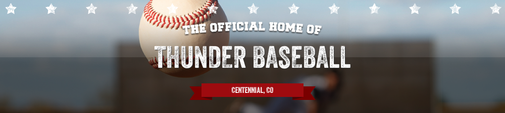 THUNDER BASEBALL, Baseball, Run, Field