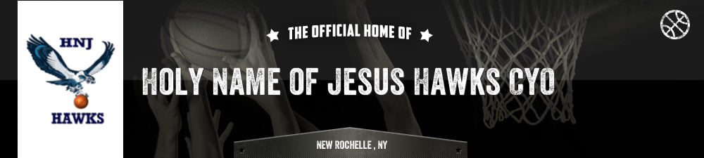 Holy Name of Jesus Hawks CYO, Basketball, Point, Court