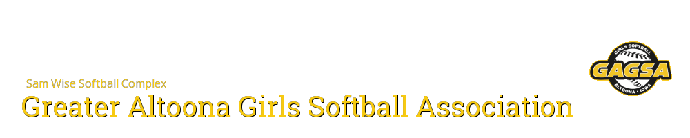 Greater Altoona Girls Softball Association, Softball, Run, Field