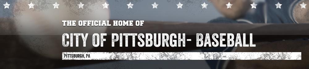 City of Pittsburgh- Baseball, Baseball, Run, Field