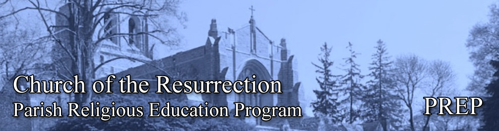 Resurrection Parish Religious Education Program, PREP, Attendence, Classroom