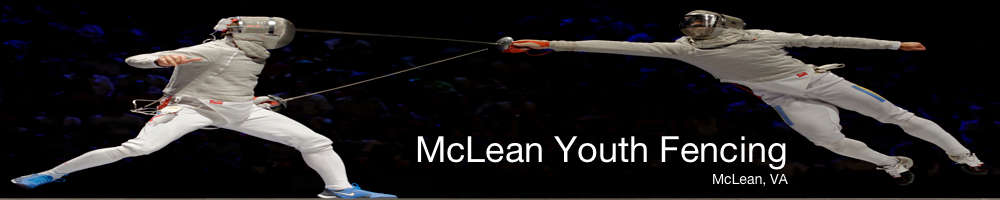 McLean Youth Fencing, Fencing, Score, Piste
