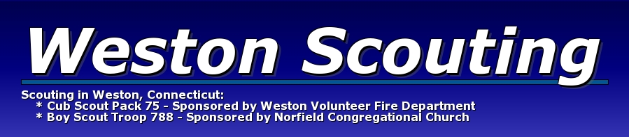 Weston Scouting, Cub Scouts, Do Your Best., Activity Location