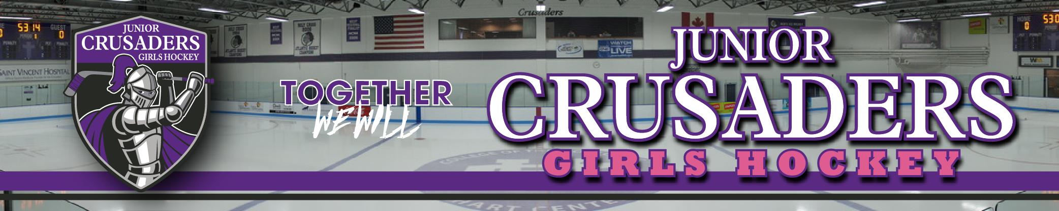Junior Crusaders Girls Hockey, Hockey, Goal, Rink