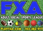 FXA Co-ed & Mens Adult Softball League, Softball