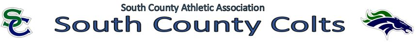 South County Athletic Association: Home of the COLTS! , Football,Lacrosse, Goals, Touchdowns, Field