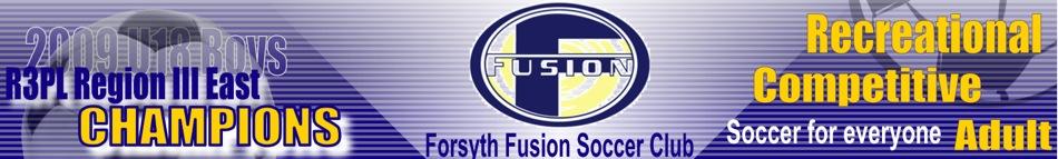 Forsyth Fusion Soccer Club, Soccer, Goal, Field