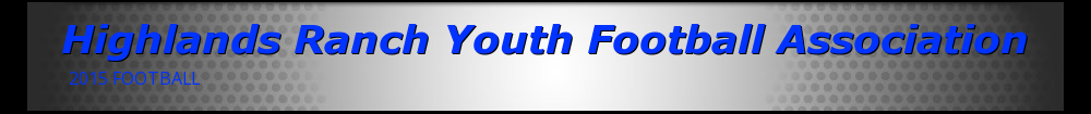 Highlands Ranch Youth Football Association, Football, Points, Field