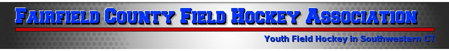 Fairfield County Field Hockey Association, Field Hockey , Goal, Field-Direction