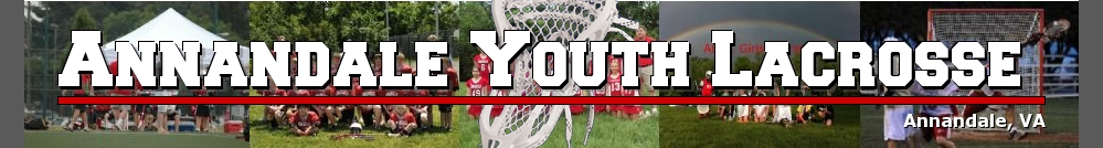 Annandale Youth Lacrosse, Lacrosse, Goal, Field