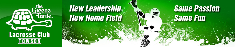 Greene Turtle Lacrosse Club, Lacrosse, Goal, Field