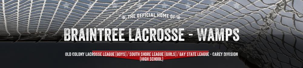 BRAINTREE LACROSSE, Lacrosse, Goal, Field