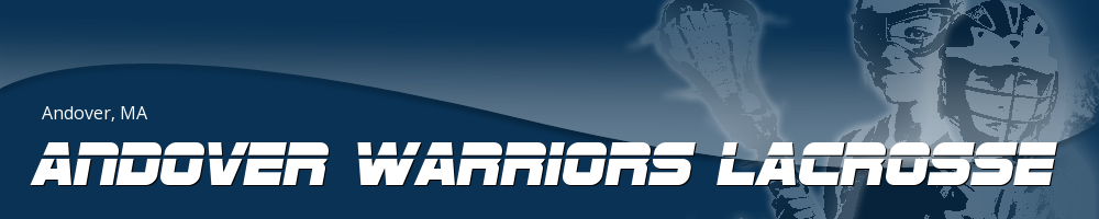 Andover Warriors Lacrosse, Lacrosse, Goal, Field