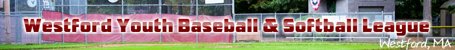 Westford Youth Baseball & Softball League, Baseball/Softball, Run, Field