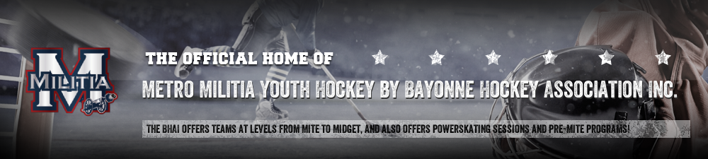 Bayonne Hockey Association Inc., Hockey, Goal, Rink