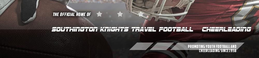 Southington Knights Travel Football & Cheerleading, Football, Score, Field