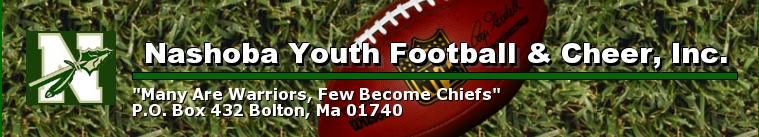 Nashoba Youth Football & Cheer, Inc., Football, Point, Field