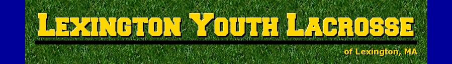 Lexington Youth Lacrosse, Lacrosse, Goal, Field