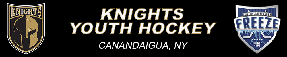 Canandaigua Knights Youth Hockey, Hockey, Goal, Area Rink