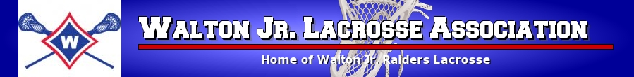 Walton Jr Lacrosse Association, Lacrosse, Goal, Field