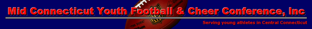 Mid Connecticut Youth Football & Cheer Conference, Inc, Football & Cheerleading, Point, Field