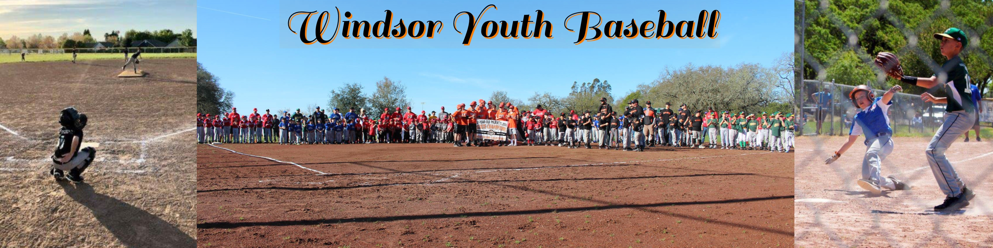Windsor Cal Ripken Youth Baseball League, Baseball, Run, Field