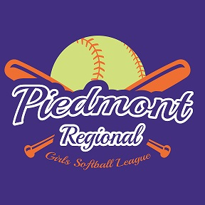 Piedmont Regional Girls Softball League, Softball, Run, Field