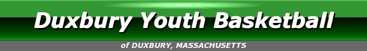 Duxbury Youth Basketball, Basketball, Point, Court