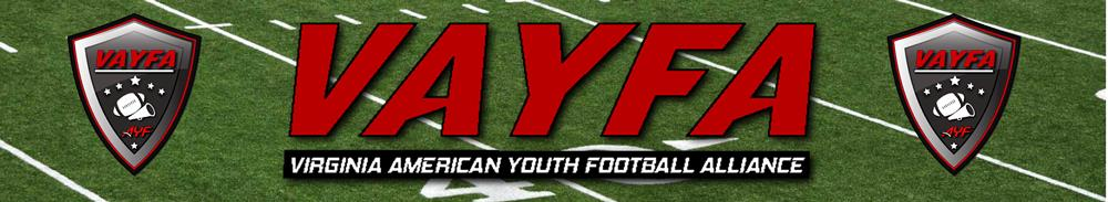 Virginia American Youth Football Alliance, Football, Touch Down, Field