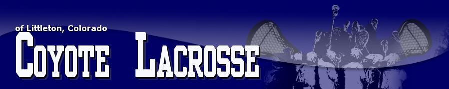 Coyote Lacrosse Association, Inc., Lacrosse, Goal, Field