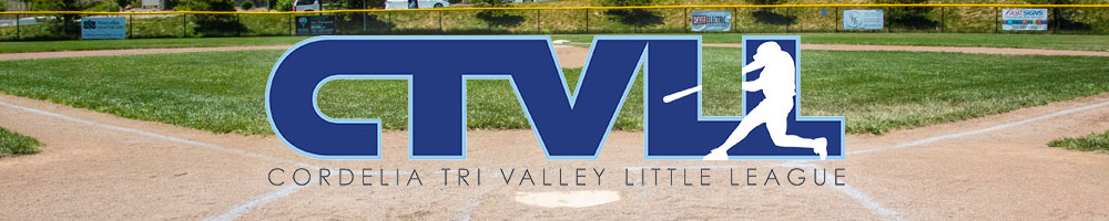 Cordelia Tri Valley Little League, Baseball, Run, Field