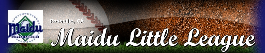 Maidu Little League, Baseball, Run, Field