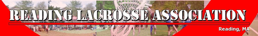 Reading Lacrosse Association, Lacrosse, Goal, Field