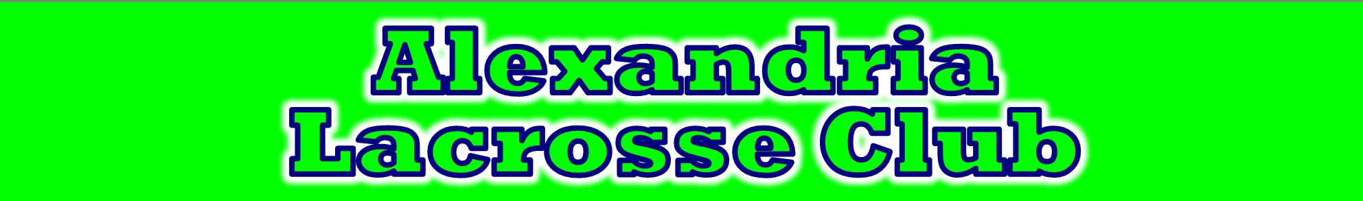 Alexandria Lacrosse Club, Lacrosse, Goal, Field