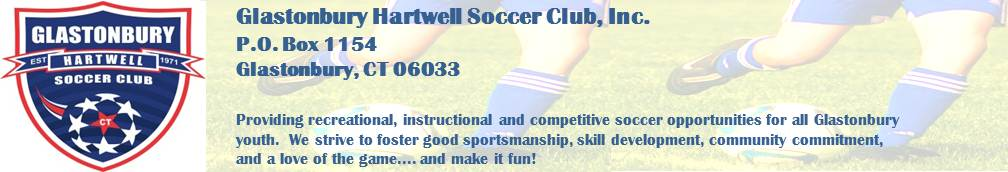 Glastonbury Hartwell Soccer Club, Soccer, Goal, Field