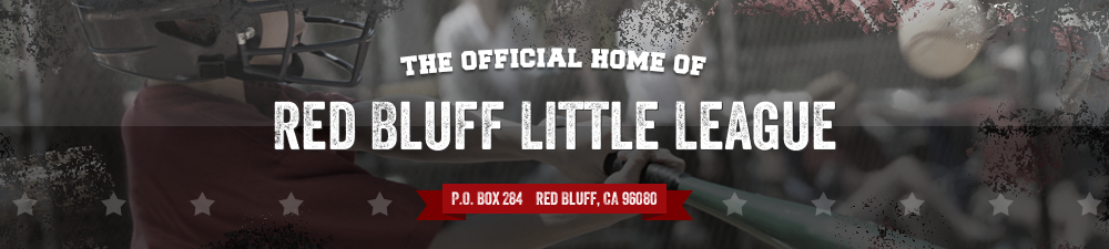 Red Bluff Little League, Baseball/Softball, Run, Field