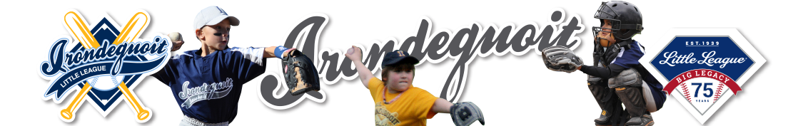 Irondequoit Little League, Baseball, Play Ball !, Field