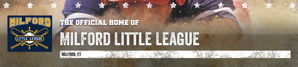 Milford National Lou Gehrig Little League, Baseball, Run, Field
