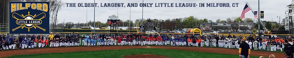 Milford Little League - Milford Connecticut, Baseball, Run, Field