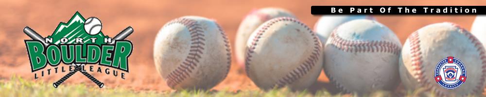 North Boulder Little League, Baseball, Run, Field