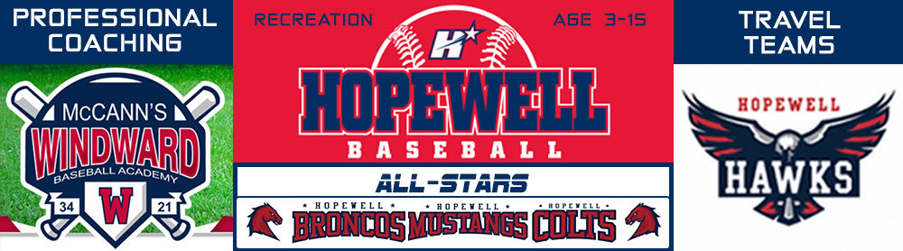 Hopewell Youth Association, Baseball, Promotion of character, responsibility, sportsmanship & teamwork, Field