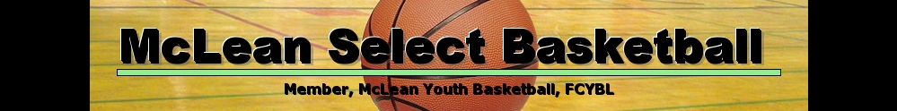 McLean Select Basketball, Basketball, Point, Court