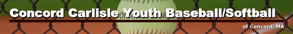 Concord Carlisle Youth Baseball/Softball, Baseball, Run, Field