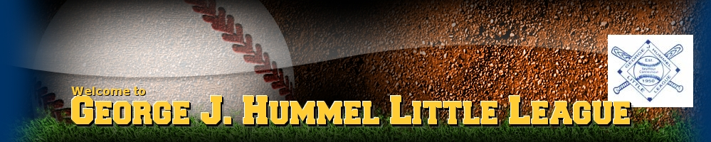 George J Hummel Little League, Baseball, Run, Field