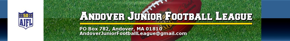 Andover Junior Football League, Football, Touch Down, Field