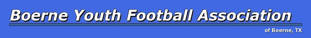 Boerne Youth Football Association, Football, Goal, Field