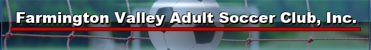 Farmington Valley Adult Soccer Club, Inc., Soccer, Goal, Field