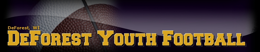 DeForest Area Youth Football League, Football, Touchdown, Field