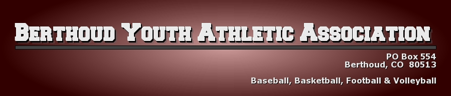 Berthoud Youth Athletic Association, , ,