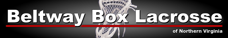 Beltway Box Lacrosse League, Lacrosse, Box Lacrosse, Rink